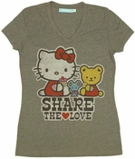 Hello Kitty Share Love Baby Tee