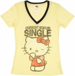 Hello Kitty Status Single Baby Tee