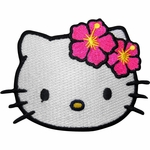 Hello Kitty Tropical Head Patch