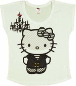 Hello Kitty Veil Ladies Tee