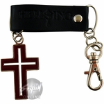 Hellsing Cross Outline Keychain