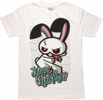 Hero 108 Jumpy Ghostface White T Shirt