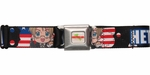 Hetalia America Allied Force Seatbelt Belt