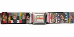Hetalia Characters and Flags Seatbelt Mesh Belt