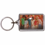 High School Musical Group Lucite Keychain