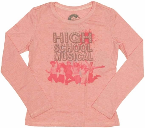 High School Musical Group Long Sleeve Youth T-Shirt