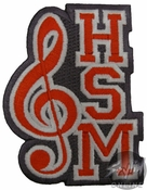 High School Musical Logo Patch