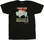 Hot Tub Time Machine Save Buffalo T-Shirt Sheer