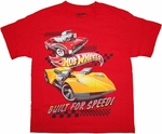 Hot Wheels Speed Youth T Shirt