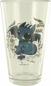 How to Train Your Dragon Toothless Pint Glass