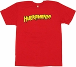 Hulk Hogan Hulkamania T Shirt Sheer