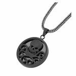 Hydra Logo Stainless Steel Necklace