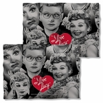I Love Lucy Faces FB Pillow Case
