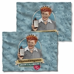 I Love Lucy Vitameatavegamin FB Pillow Case
