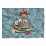 I Love Lucy Vitameatavegamin Pillow Case