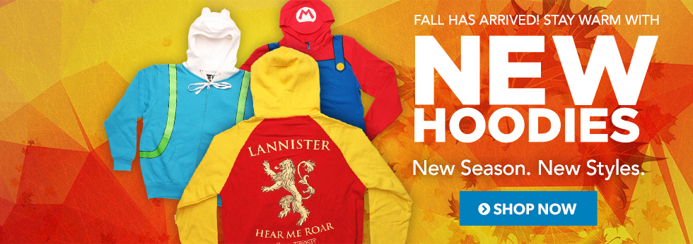 Stay Warm with New Hoodies