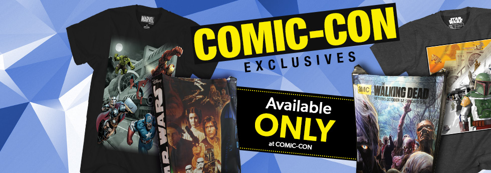 Check out our San Diego Comic-Con exclusives!