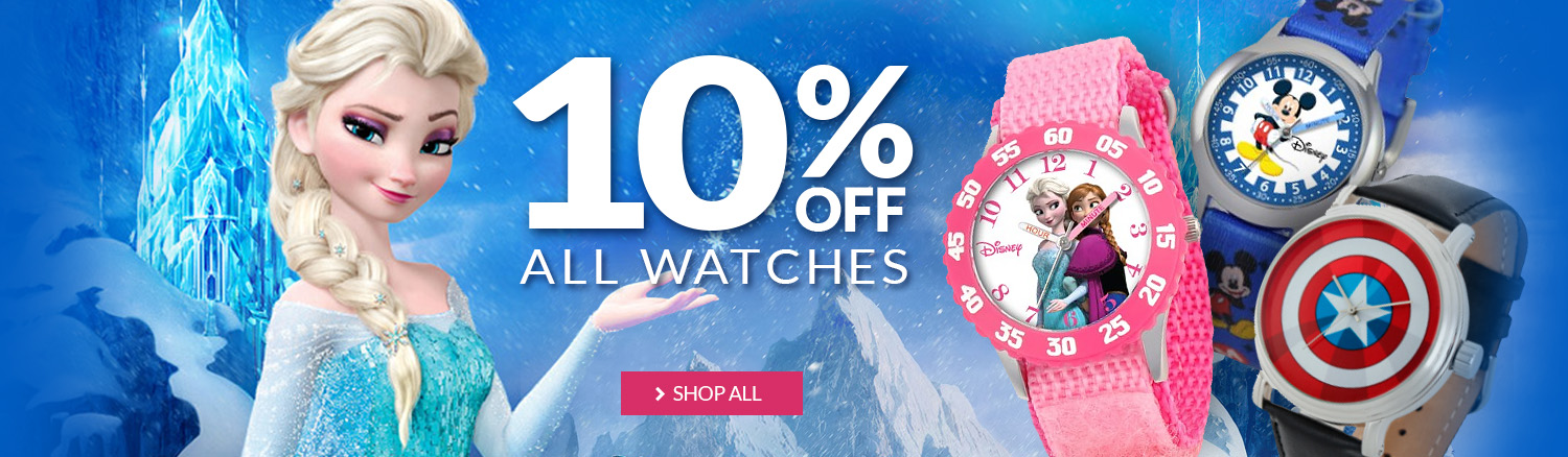 10% Off All Watches