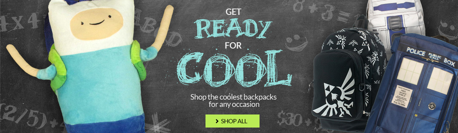 Backpacks: Get ready for cool!