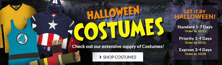 Check out new ideas for Halloween costumes.