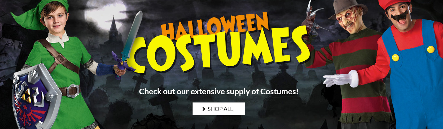 Shop our selection of Halloween costumes.