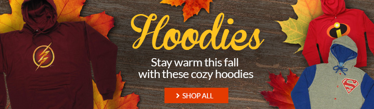 Stay warm this fall with cozy hoodies. Shop now.