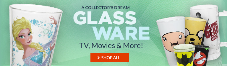 Check out our selection of glassware from TV, movies, comics, and more!
