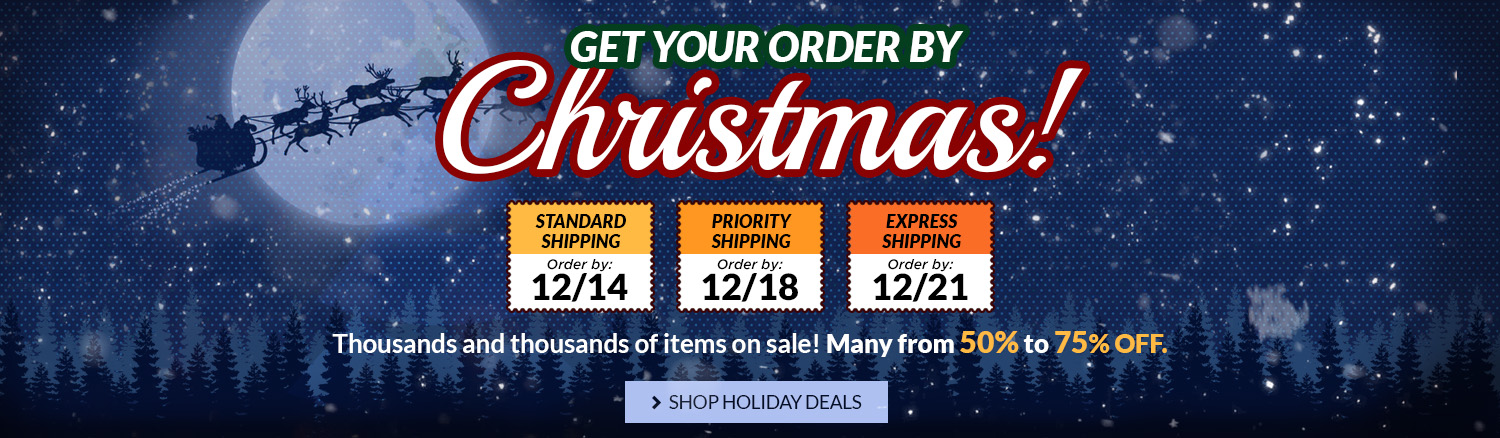 Check out our holiday sales!