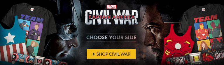Captain America: Civil War in theaters May 6. Choose your side!