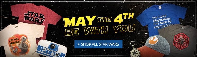 Celebrate May the Fourth! Shop all Star Wars products.
