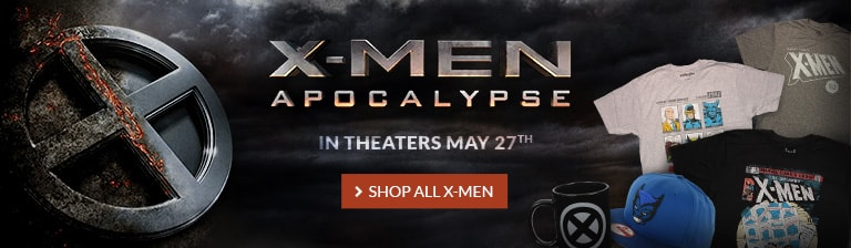 The Age of Apocalypse is upon us! Shop all X-Men.