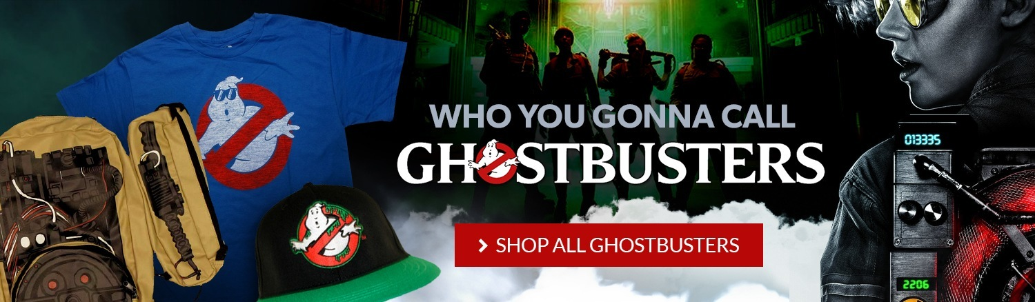 Who you gonna call? Shop all Ghostbusters items.