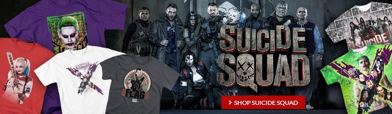 Suicide Squad Movie! Shop Suicide Squad items.