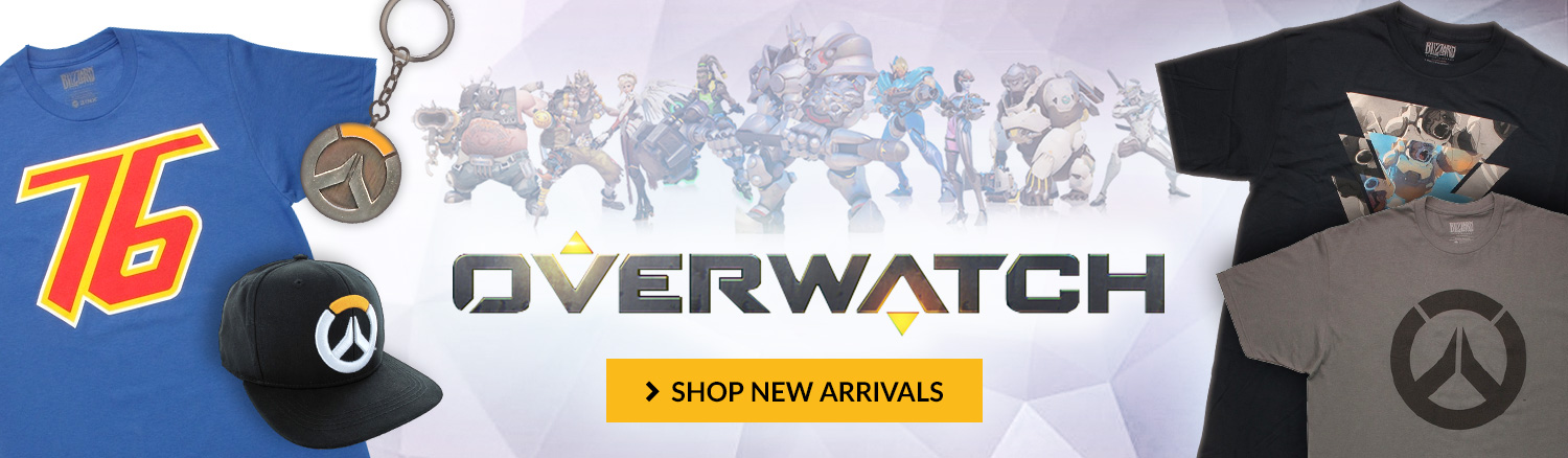 Check out new arrivals for Overwatch. Shop all Overwatch items.