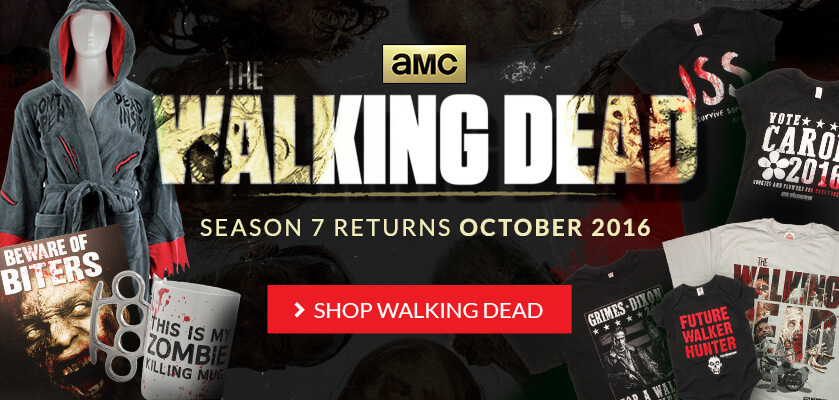 Walking Dead Shirts and Merchandise
