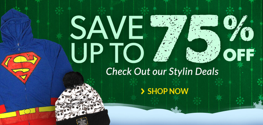 Save up to 75% Check Out Our Stylin Deals!