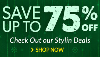 Save up to 75% at Our Stylin Deals!