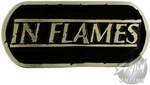 In Flames Logo Belt Buckle