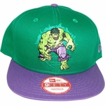 Incredible Hulk Action Logo Hat