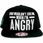 Incredible Hulk Angry Hat