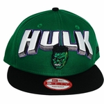 Incredible Hulk Block Name Hat