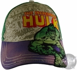 Incredible Hulk Comic Hat