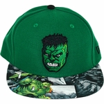 Incredible Hulk Comic Visor 59Fifty Hat