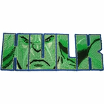 Incredible Hulk Die Cut Patch