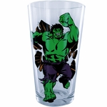 Incredible Hulk Fist Up Pint Glass