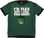 Incredible Hulk Flex Mesh T Shirt