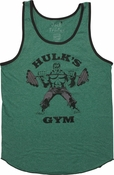 Incredible Hulk Gym Ringer Tank Top