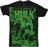 Incredible Hulk Monster Unleashed Vintage T Shirt Sheer