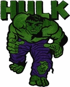 Incredible Hulk Name Patch