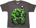 Incredible Hulk SHIELD Pound Youth T-Shirt